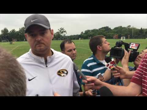 Missouri offensive coordinator Josh Heupel talks scrimmage, J
