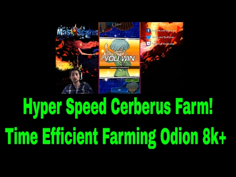 Hyper Speed Cerberus Farm! Time Efficient Farming Odion For 8k+ YuGiOh Duel Links