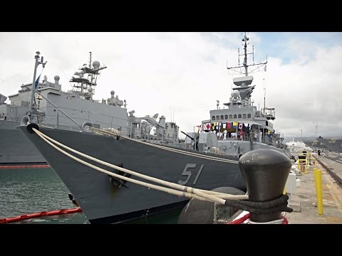 Colombian Navy Ship ARM Almirante Padilla in RIMPAC 2014