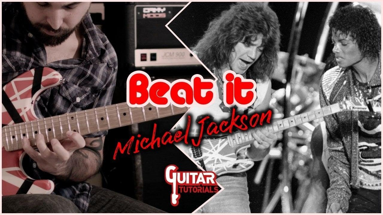 Beat It (Michael Jackson) - Solo by Eddie Van Halen - Guitar Tutorial with  Antonio Cordaro - YouTube