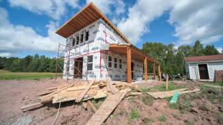 Timelapse: Building Our Own Small Home