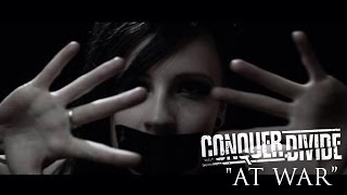 Conquer Divide - At War (Lyric Video)