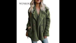 Плюшевое пальто женские зимние куртки пушистое женская теплая искусственная флисовая зимняя одежда