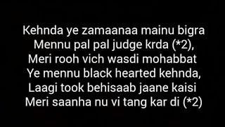 Download lagu Black heart | Lyrics | Sara Khan | Nakshita World
