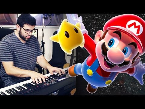 Super Mario Galaxy - Space Junk Road (Piano/Synth Cover)