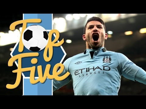 TOP 5 MANCHESTER CITY GOALS AT OLD TRAFFORD!