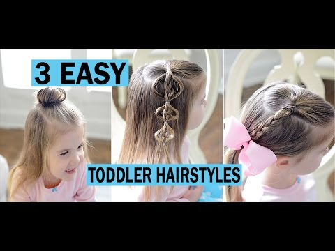 3 Easy Toddler Hairstyles Fine Hair