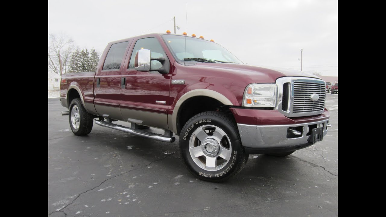 2007 Ford F-250 Lariet Powerstroke Diesel 4x4 Sold