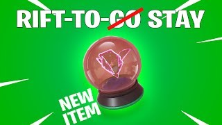 Fortnite Battle Royale New ITEM - Rift to Stay
