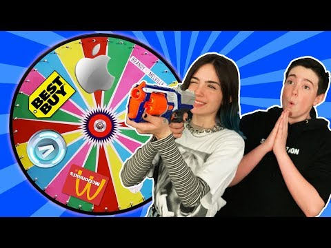 SHOOT The MYSTERY WHEEL & BUYING Whatever It Lands On