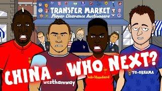 PAYET TO CHINA? STURRIDGE to CHINA? TERRY to CHINA? Transfer Market - Episode 1