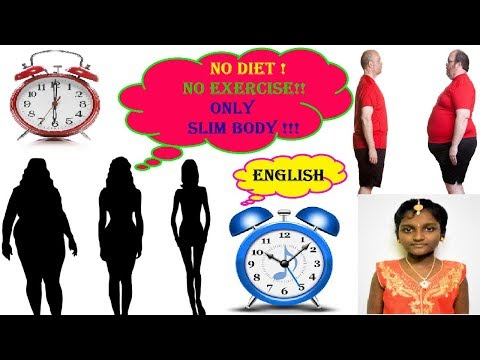 NO DIET ! NO EXERCISE !! ONLY SLIM BODY !!! - ENGLISH