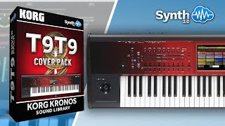 Korg Kronos Toto Cover Pack by S4K TEAM ( Space4Keys Keyboard Solo )