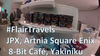 Japan Tokyo Stock Exchange, Rokkasen, Artnia, 8-bit Cafe - Flair Travels