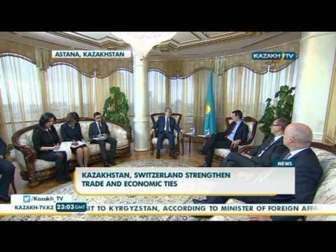 Kazakhstan, Switzerland strengthen trade and economic ties - Kazakh TV