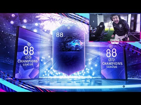 I PACKED THE NEW UCL OTW!! 88 RATED WALKOUT!! FIFA 19