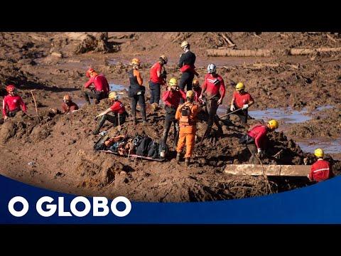 O rastro de destruição no rompimento da barragem em Brumadinho