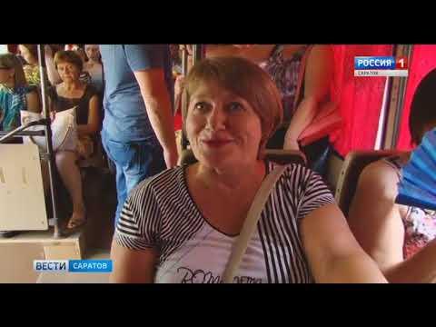 Саратовский общественный транспорт не приспособлен к жаре