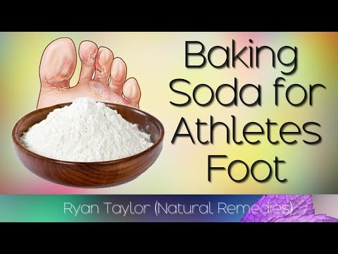 Baking Soda: for Athletes Foot (Fast)