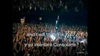 Download Coldplay - Fix you lyrics (español/inglés) MP3