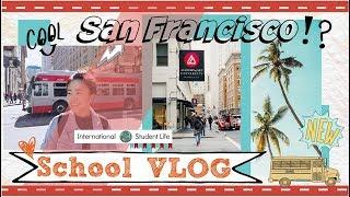 【舊金山留學生VLOG#7】一起上美國特效課|美國藝術大學|學校Lab生活|A Week Vlog Challenge ♥ School life Day1
