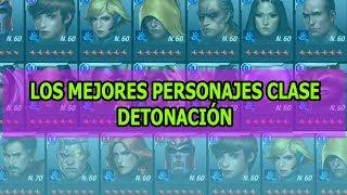 [MARVEL Future Fight] TOP Los MEJORES  Personajes Clase Detonación | Sir Dragon