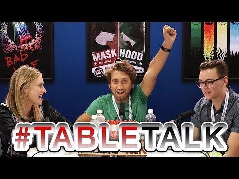 Rooster Teeth's' Gavin Free on #TableTalk!