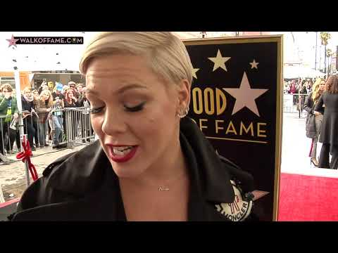 P!NK HONORED WITH HOLLYWOOD WALK OF FAME STAR Mp3