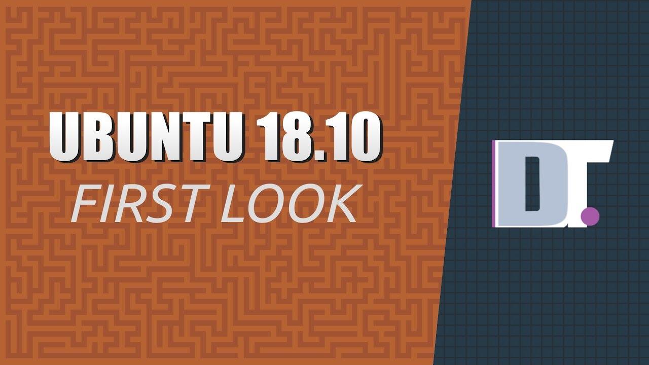 Ubuntu 18 10