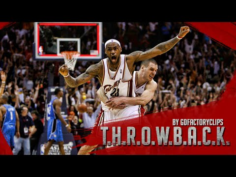 Throwback: Lebron James 2009 Playoffs East Finals Series Highlights vs Orlando Magic (HD 720)
