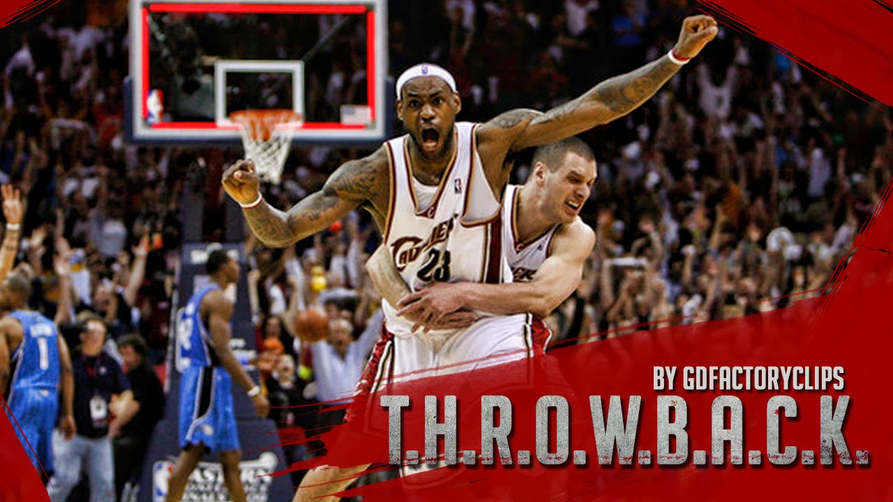 00128f102fe5 Throwback  Lebron James 2009 Playoffs East Finals Series Highlights vs  Orlando Magic (HD 720) - YouTube
