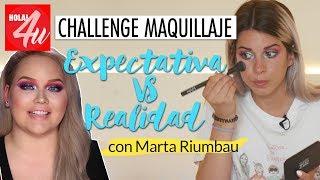 Intentando hacer un MAQUILLAJE de NIKKIETUTORIALS   Con Marta Riumbau