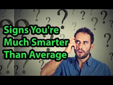 Download Youtube: 5 Signs You're Much Smarter Than Average