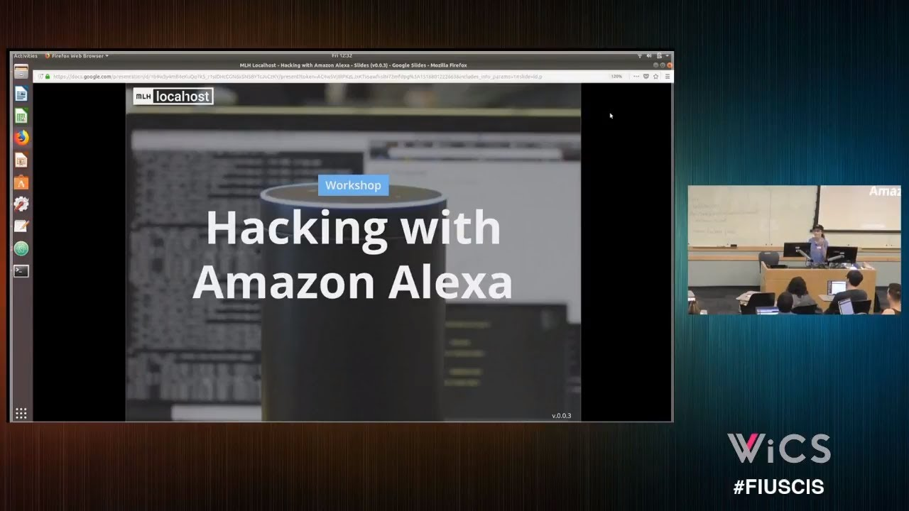 Hacking with Amazon Alexa! | School of Computing and