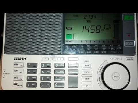 Radio Gibraltar 02.10.2016 1458kHz 20:34UTC