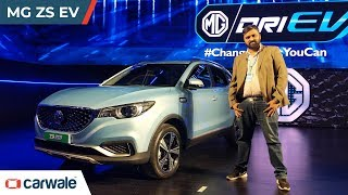 MG ZS EV Explained In 3 Minutes | CarWale