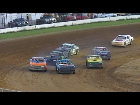 Pure Stock Heat Two | McKean County Raceway | 8-18-16