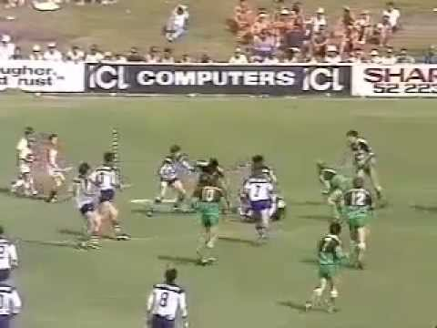 1986 Canterbury v Newcastle RL (Rare Footage)