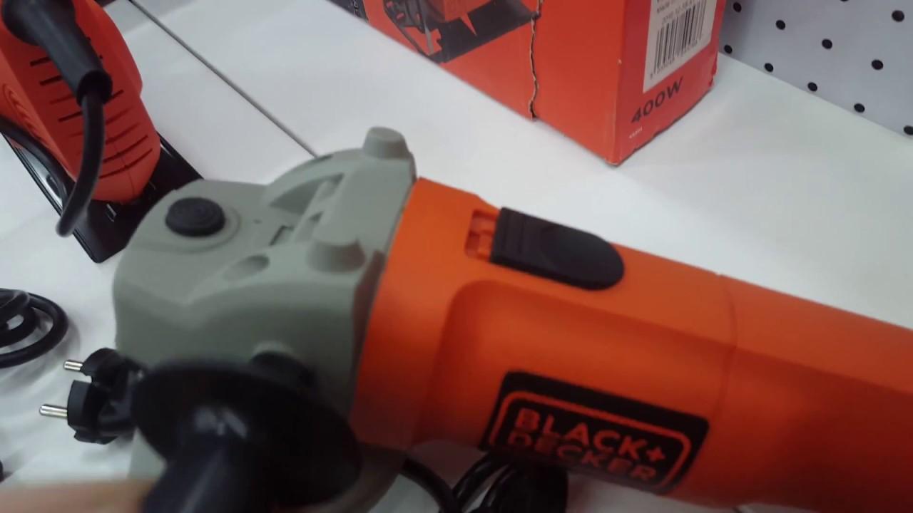 Amoladora mini Black/&Decker BEG110-QS 750W 115MM