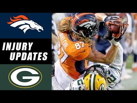 Broncos vs Packers Recap & Injury Updates