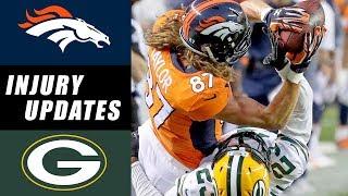 Broncos vs Packers Recap & Injury Updates