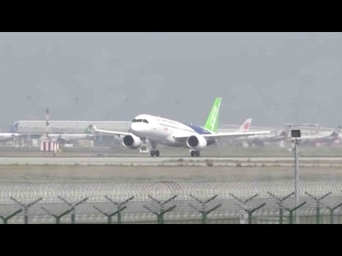 China-made C919 completes vital pre-flight test