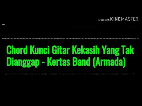 Chord Kunci Gitar Kekasih Yang Tak Dianggap - Kertas Band (ARMADA)