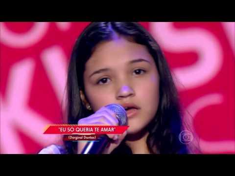 Ana Rosa canta 'Eu Só Queria Te Amar' no The Voice Kids - Audições | Temporada 1