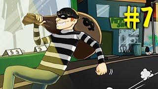 ВОРИШКА БОБ [7] Игровой мультик про грабителя по имени Боб Новая серия Мультик Игра Robbery Bob