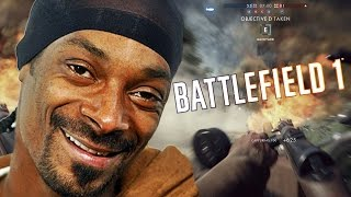 J'AI JOUÉ CONTRE SNOOP DOGG ! Battlefield 1