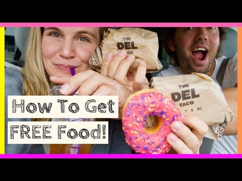 How To Get Tons Of Free Food + Free Sephora !!!