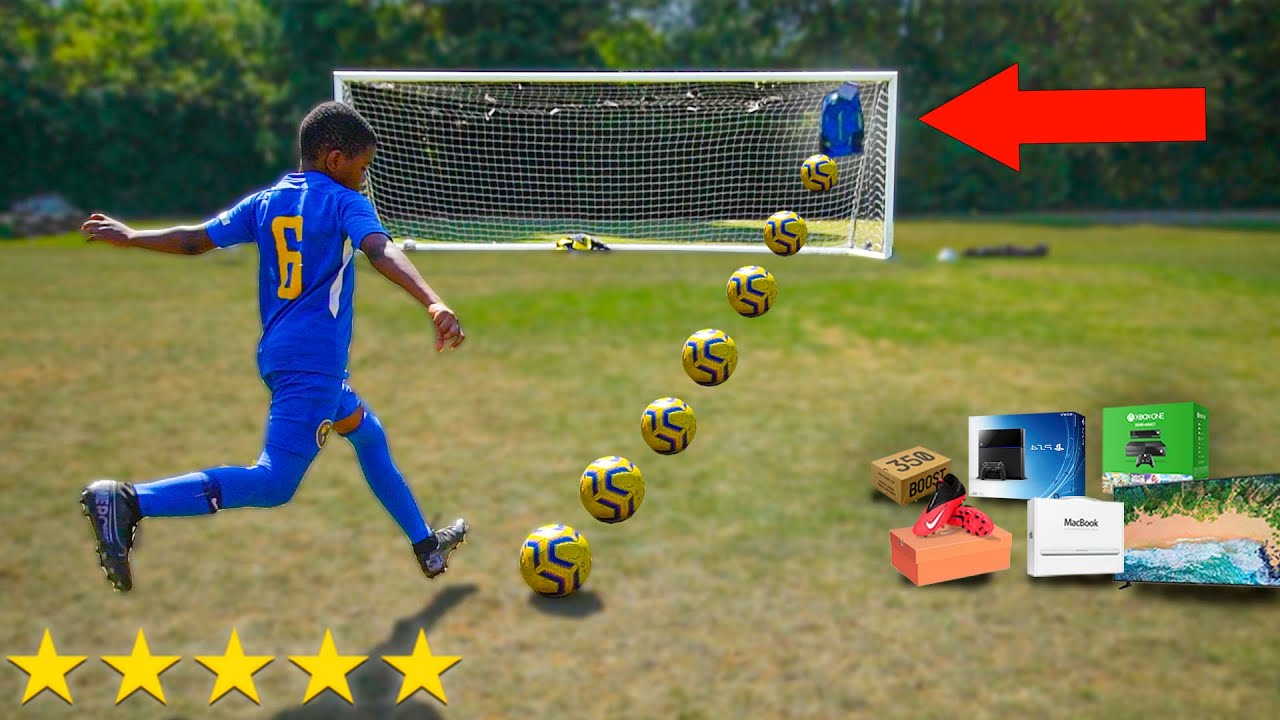 I Challenged Kid Footballers to a PRO Football Competition (10 YEAR OLD POGBA)