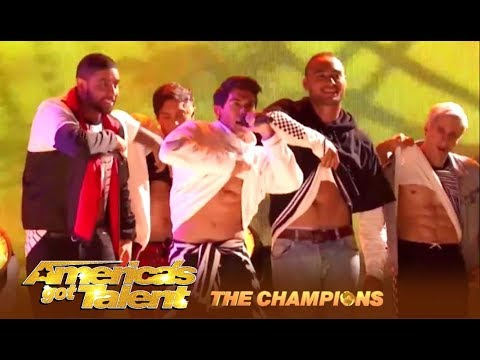 Justice Crew: Australia's Got Talent Winners Go For a World Title | America's Got Talent: Champions