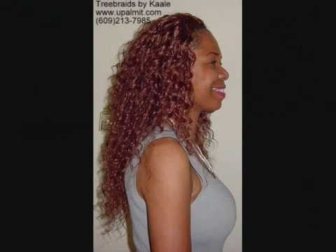 Crochet Curly Hair Youtube : WAVY TREE BRAIDS #4: Cornrows, Not Crochet- Kaales Hair Braiding ...